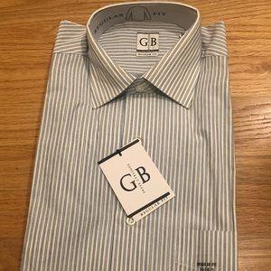 Men's Geoffrey Beene dress shirt 14-14 1/2 32/33